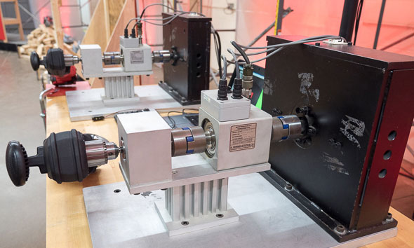 Milwaukee Dynamometer M18 Super Hawg Runtime Testing