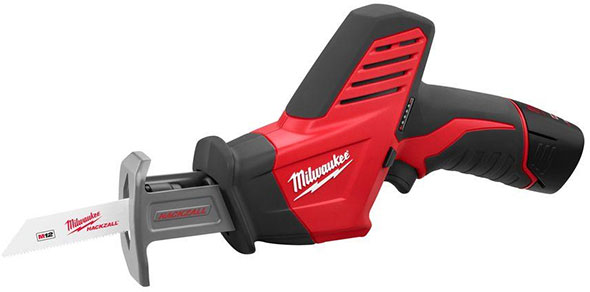 Milwaukee M12 Hackzall Compact Reciprocating Saw