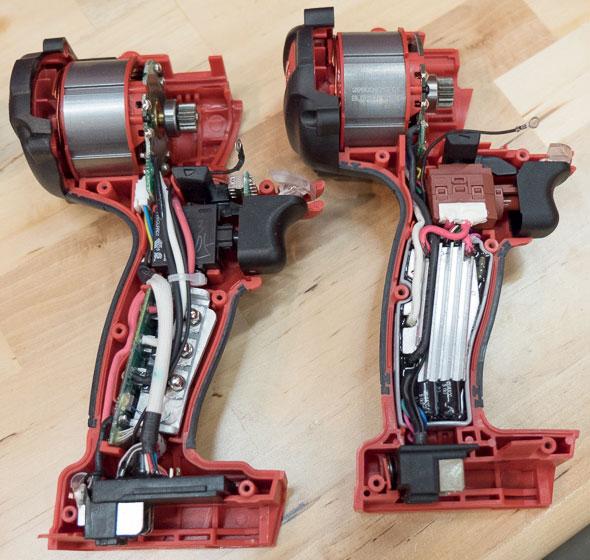 Milwaukee M18 Fuel Hammer Drill Gen 1 vs Gen 2 Insides
