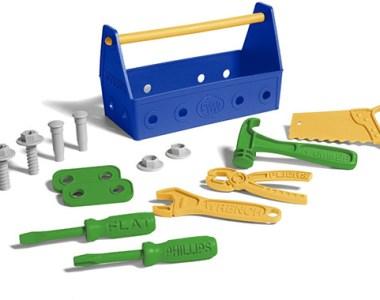 Green Toys Tool Set Blue Green Yellow