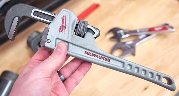 Milwaukee Aluminum Pipe Wrench