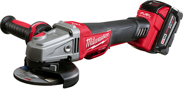 Milwaukee M18 Fuel Braking Grinder