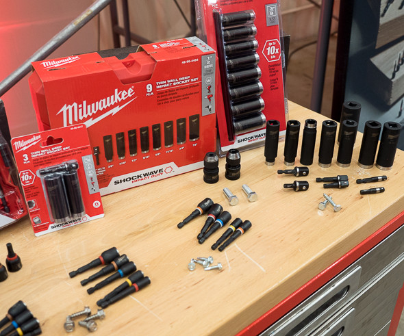 Milwaukee Current Shockwave Sockets and Nutdrivers