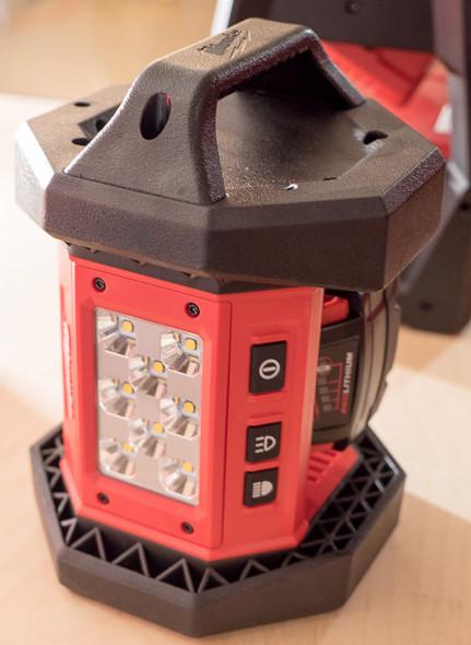 Milwaukee M18 TrueView LED Worklight Standing Up