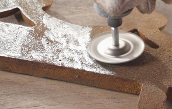Dremel Diamond Grinding Wheel in Action