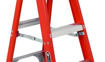 Louisville 4-foot Fiberglass Ladder