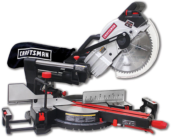Craftsman Rail Forward Sliding Miter Saw