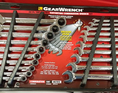 Gearwrench 20pc Ratcheting Wrench Set