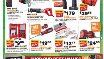 Home Depot Black Friday 2014 Tool Deals
