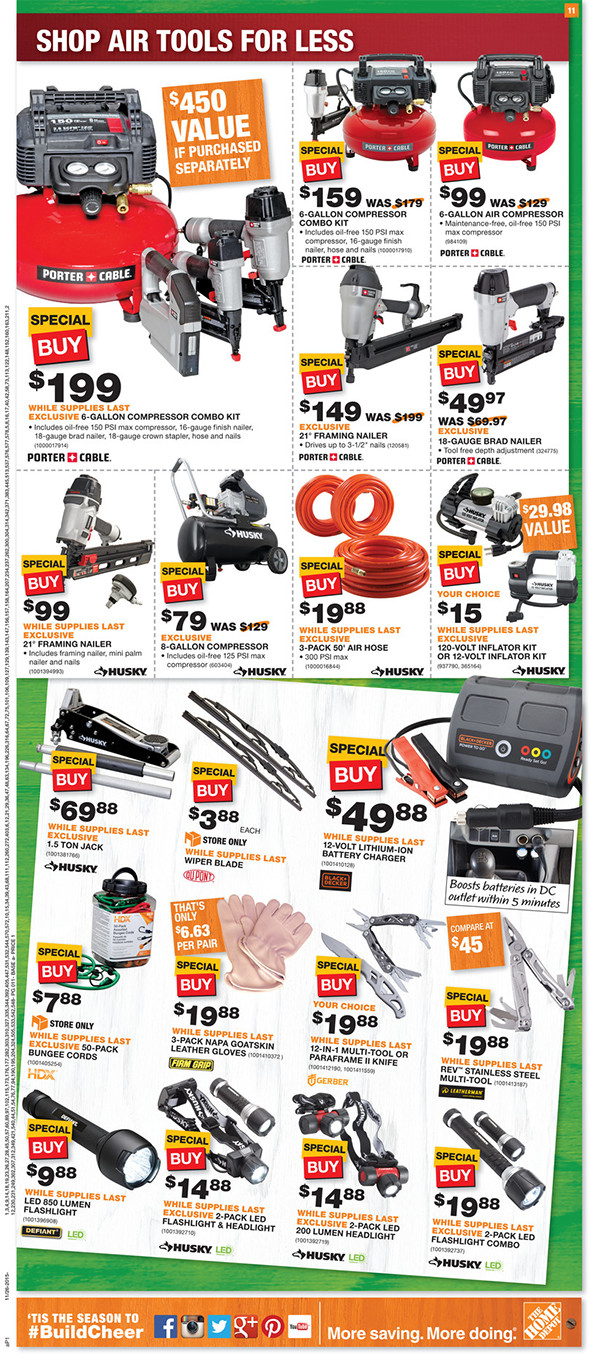 Home Depot Black Friday 2015 Tool Deals Page 7