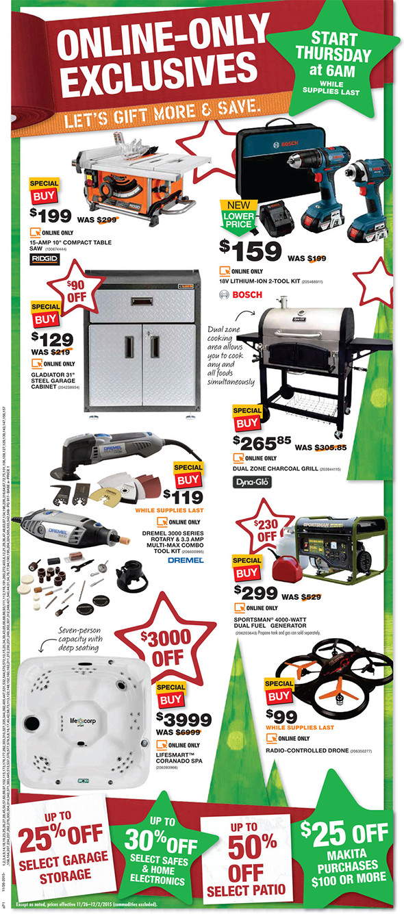 Home Depot Black Friday 2015 Tool Deals Page 9