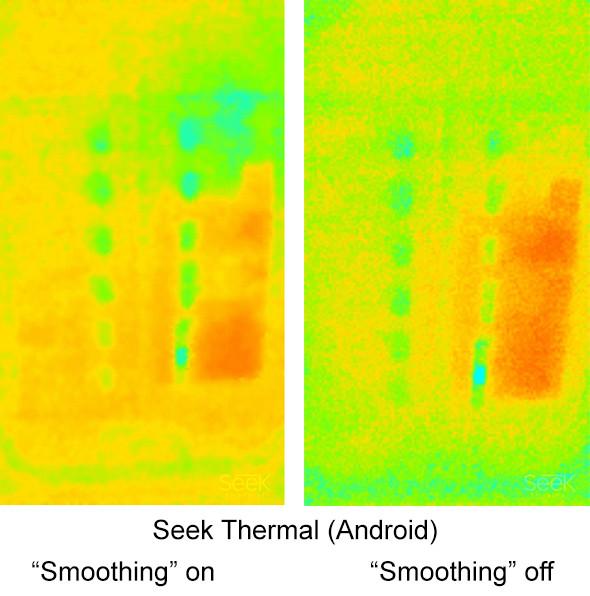 Seek Thermal Imaging Camera Circuit Breaker Panel Comparison