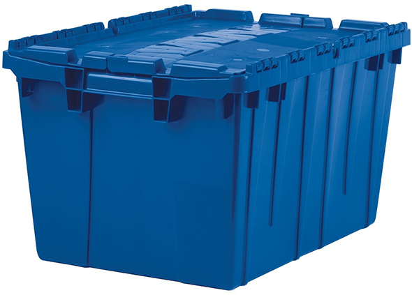 deal of the day akro mils hinged lid storage containers 210