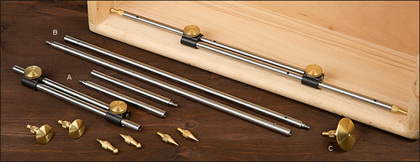 Veritas Bar Gauge Set