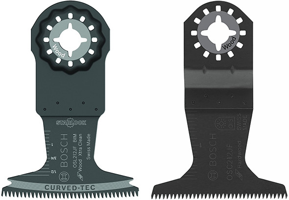 Bosch Starlock vs OIS Oscillating Multi-Tool Plunge Blade Comparison