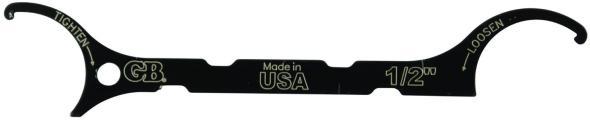 GB Conduit Locknut wrench from Amazon