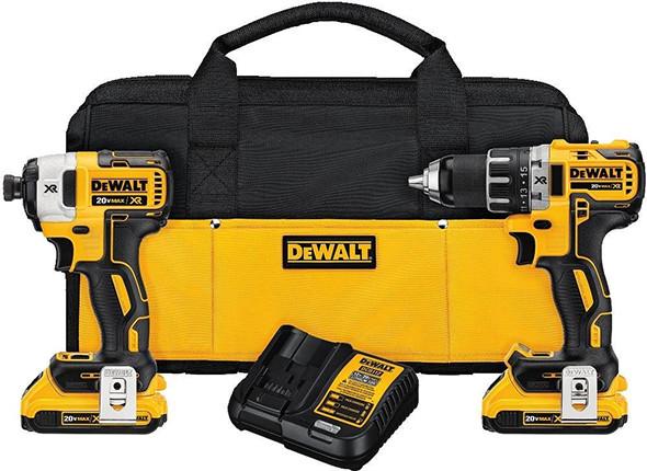 Dewalt DCK283D2 Brushless Cordless Power Tool Combo Kit