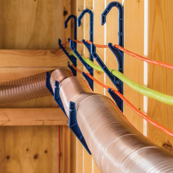 Rockler Hose and Cord Hood in use