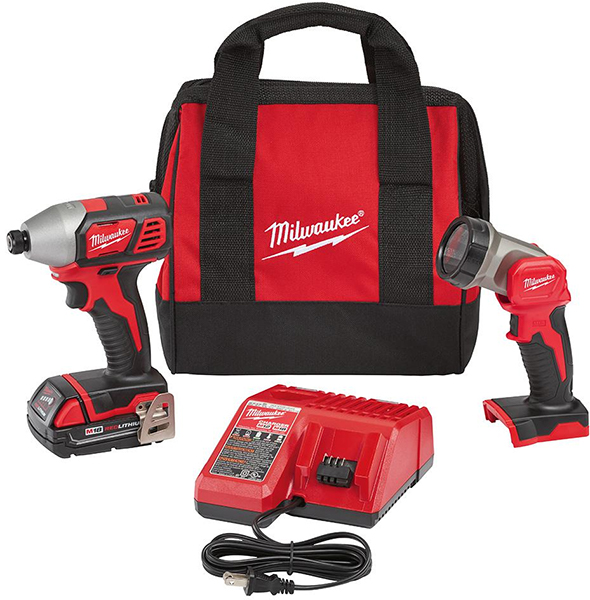 milwaukee-2656-21l-m18-impact-driver-and-led-worklight-combo-kit