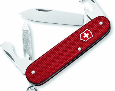 Victorinox Cadet with Red Alox Handle