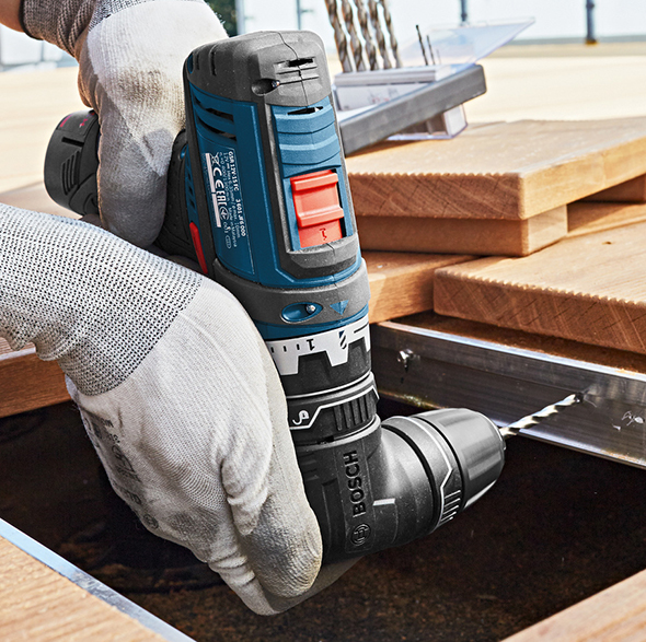Bosch 12V Flexi-Click 5-in-1 Drill Driver with Right Angle Adapter