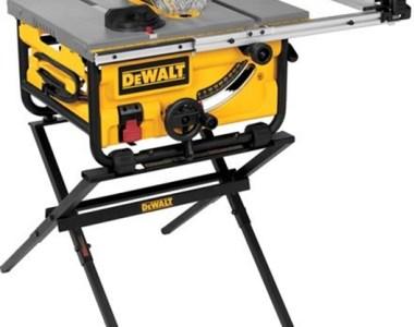 Dewalt DWE7480XA Table Saw with Stand