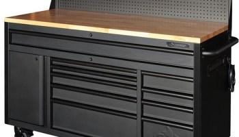 new husky garage storage system – mobile work center, cabinets