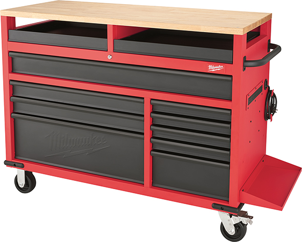 Milwaukee 52-Inch Mobile Workbench 48-22-8522 Bare