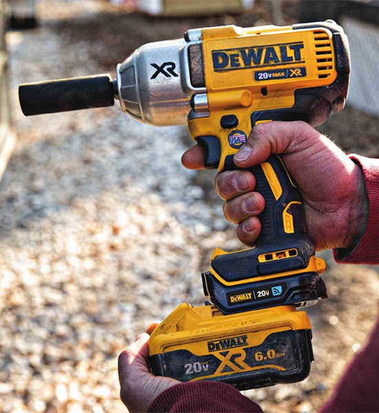 Dewalt Brushless Impact Wrench with Connector Attachment