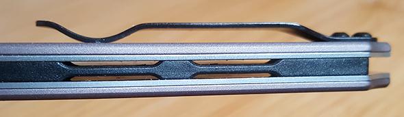 Kershaw Dividend Knife Back Spine Design