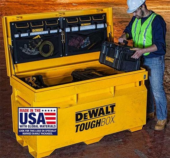 Dewalt ToughBox Jobsite Tool Storage Box