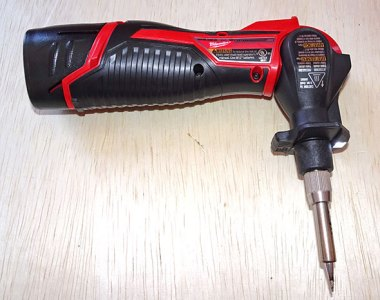 Milwaukee M12 Portable Soldering Iron featured image