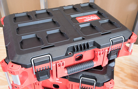 Milwaukee Packout Small Tool Box Closed Lid
