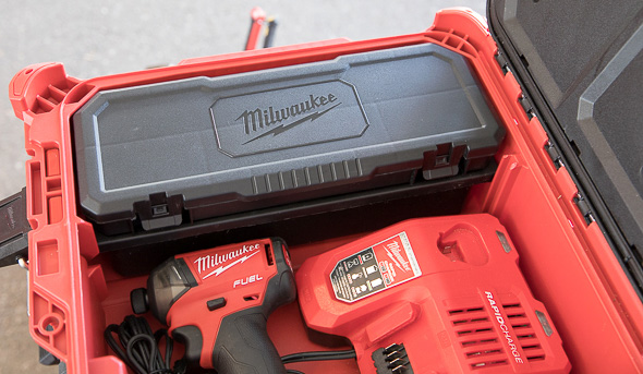 Milwaukee Packout Small Tool Box Inside Corner