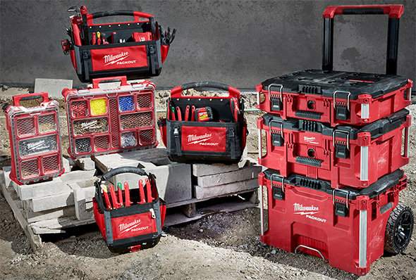 Milwaukee Packout Tool Storage Family