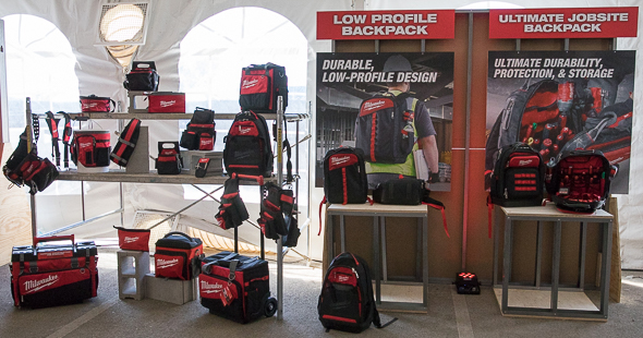 Milwaukee Tool Storage Backpacks and other Soft Storage