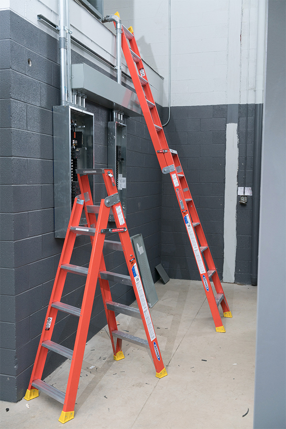 Werner Dual Purpose 2-in-1 Ladder to Scale
