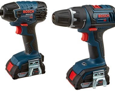 Bosch CLPK232-181 18V Drill and Impact Driver Combo Kit Updated