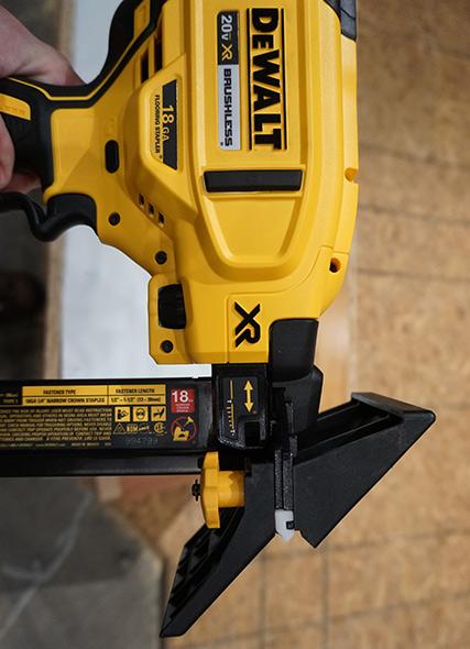 Dewalt 20V Max 18 Gauge Flooring Stapler