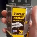 Dewalt Carbide Utility Knife Blades Dispenser and Disposal