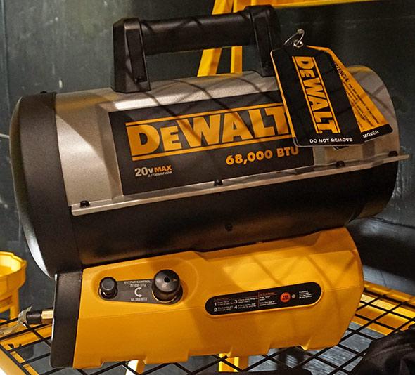Dewalt 60V Max 68000 BTU Jobsite Heater