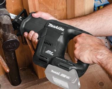 Makita XRJ07ZB 18V Sub-Compact Reciprocating Saw in Action