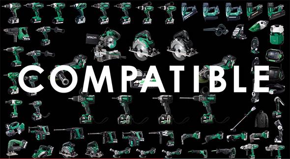 Hitachi MultiVolt Compatibility