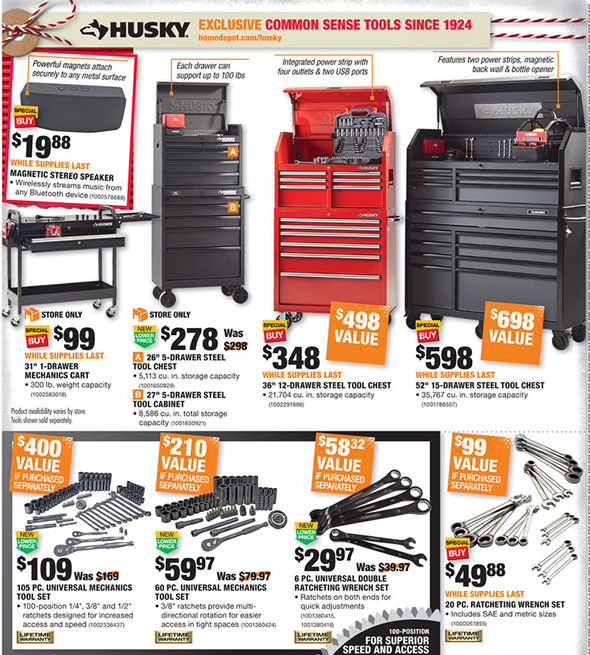 Home Depot Black Friday 2017 Tool Deals Ad Page 11