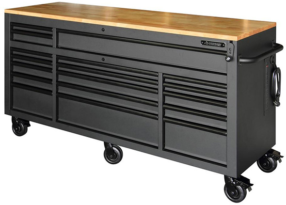 New Husky Mobile Workbench Is Larger With More Drawers