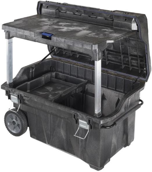IRWIN Mobile Command Center Wheeled Tool Box