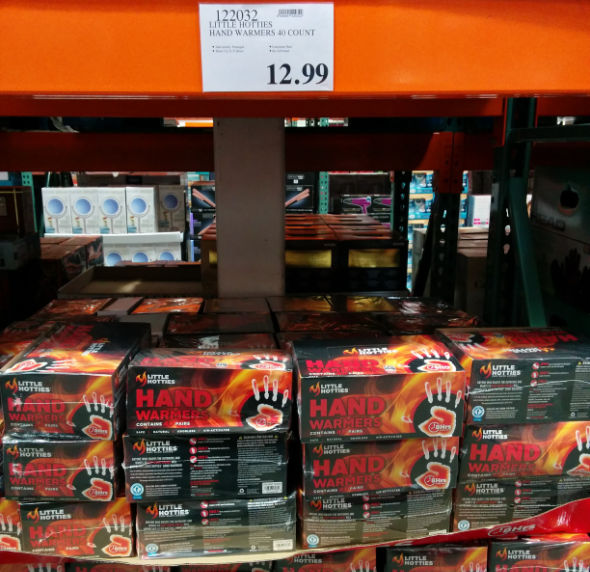 Little Hotties Hand Wamers 40 pairs at Costco