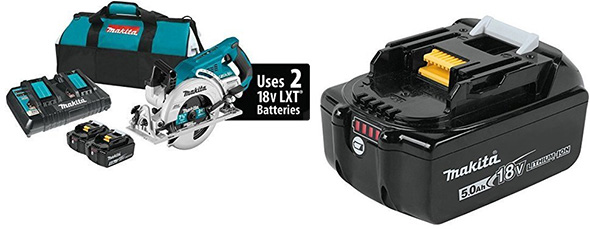 Makita Rear Handle Circular Saw Bundle Deal
