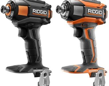 Ridgid 18V Gen5X Brushless Power Tool Combo Kit Color Scheme