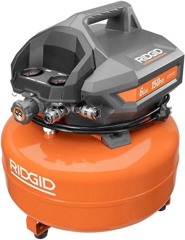 Ridgid OF60150HA 6 gallon Pancake Air Compressor